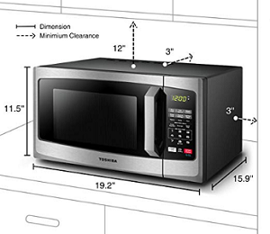 Forno a microonde Toshiba EM925A5A-BS